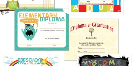 Various Diplomas and Certificates