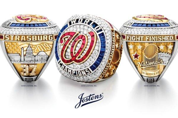 Jostens Creates 2019 World Series Championship Ring for the Washington Nationals