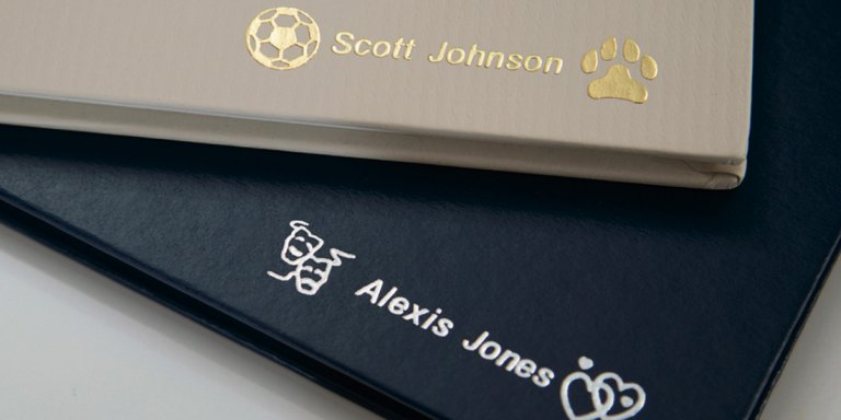 Traditional Foil Personalization