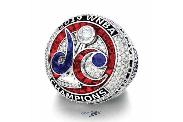 Jostens creates 2019 WNBA Championship Ring for the Washington Mystics