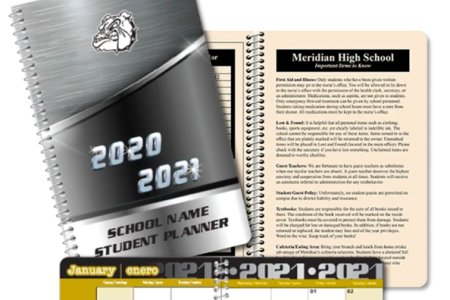 High School Planners by Meridian) Image 1
