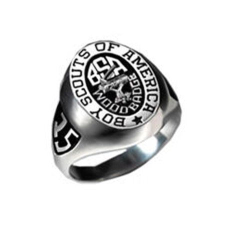 Women's Wood Badge Ring