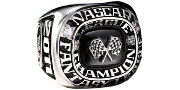 NASCAR Fantasy Championship Ring