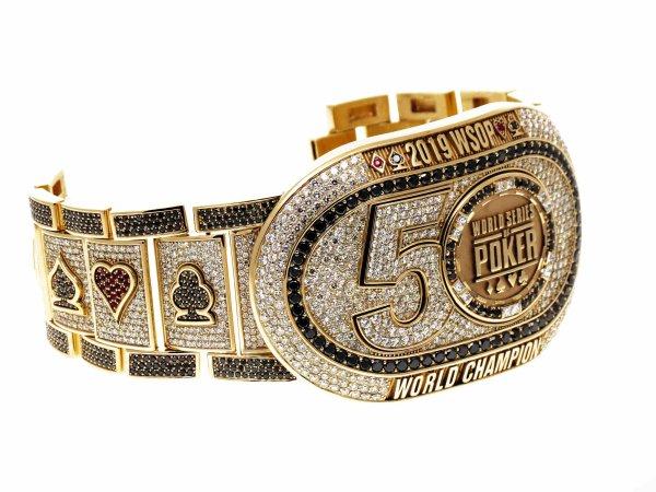 Jostens Creates Championship Bracelet for 2019 World Series of Poker Champion