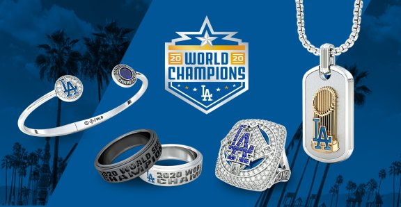 Official Jewelry of the LA Dodgers