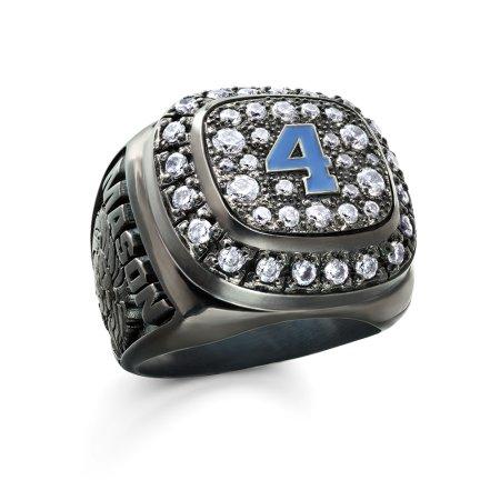 Sheer Ice® Top Varsity Ring