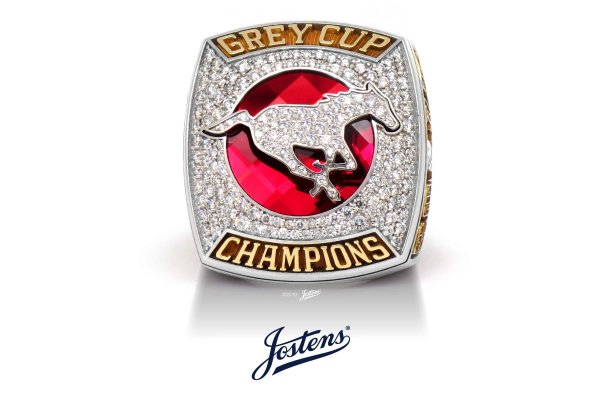 Jostens Creates Championship Ring for the Calgary Stampeders