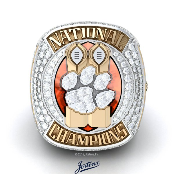 Jostens Delivers Another National Championship Ring for Clemson University Football